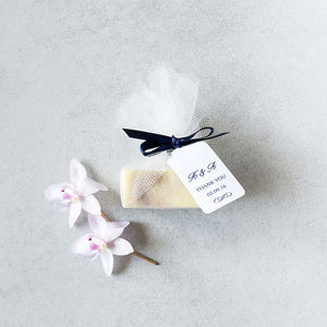Personalised wedding favours/bonbonniere