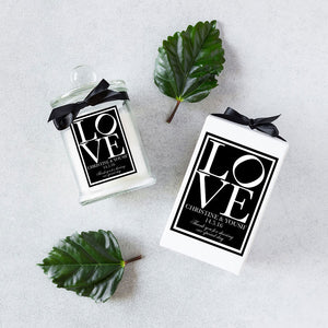 Wedding Guest Gift Soy Candle