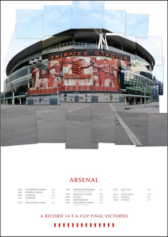 Arsenal - FA cup victories (afc1) 2020 Updated