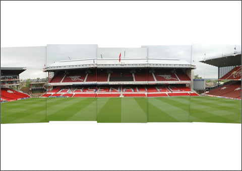 Arsenal - Highbury 5 photo panoramic