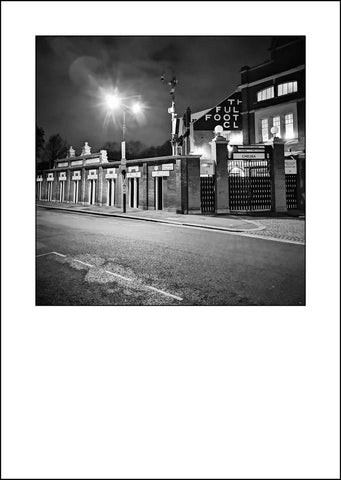 Fulham - Craven Cottage (cc1bw)