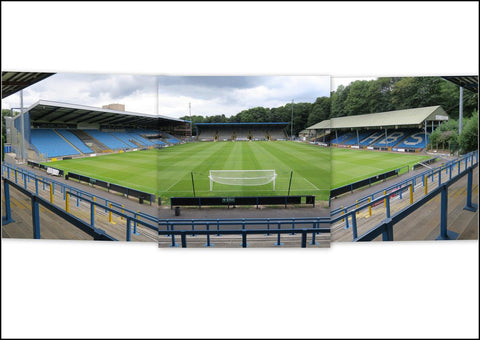 Halifax Town - The Shay Stadium Triptych