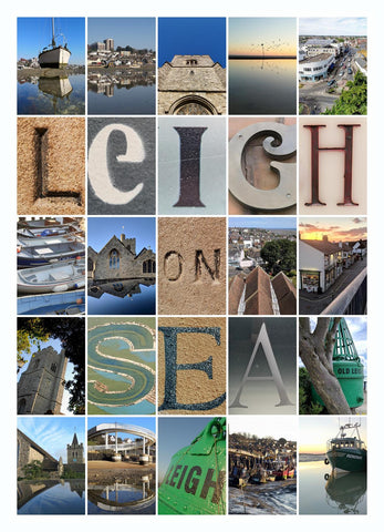 Leigh on Sea Montage