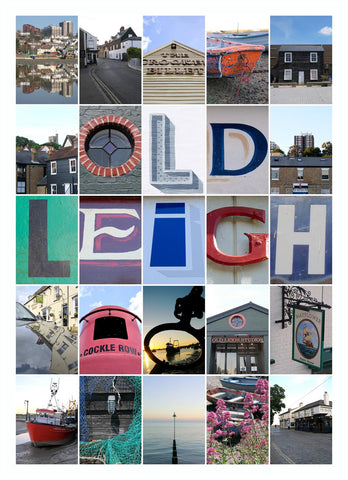 Leigh on Sea Montage (Old Leigh)