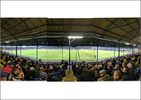 Southend United - Roots hall (View from the West) Triptych