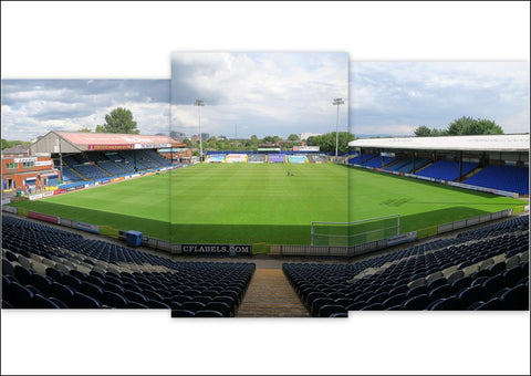 Stockport County - Edgeley Park Triptych