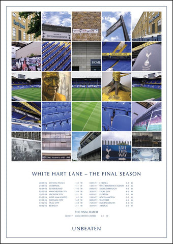 Tottenham Hotspur - Final season at White Hart lane 'unbeaten' montage