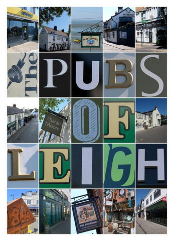 Leigh on Sea Pubs montage Montage