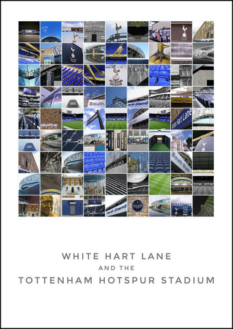 Tottenham Hotspur - 81 photo montage.
