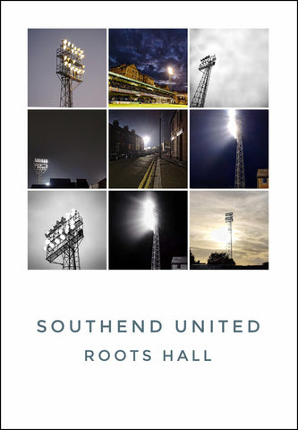 Southend United - Roots Hall floodlight montage