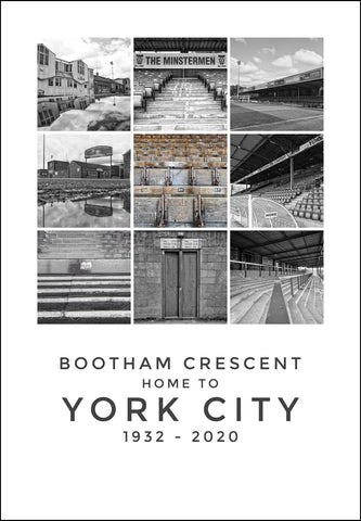 York City - Bootham Crescent montage (bcm1)