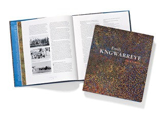 'Emily Kngwarreye Paintings', published by Craftsman House, 1998. New copies available to purchase.
