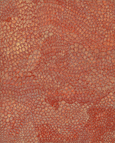 Australian Aboriginal Art Painting by Lily Sandover Kngwarreye of Utopia in 2001.