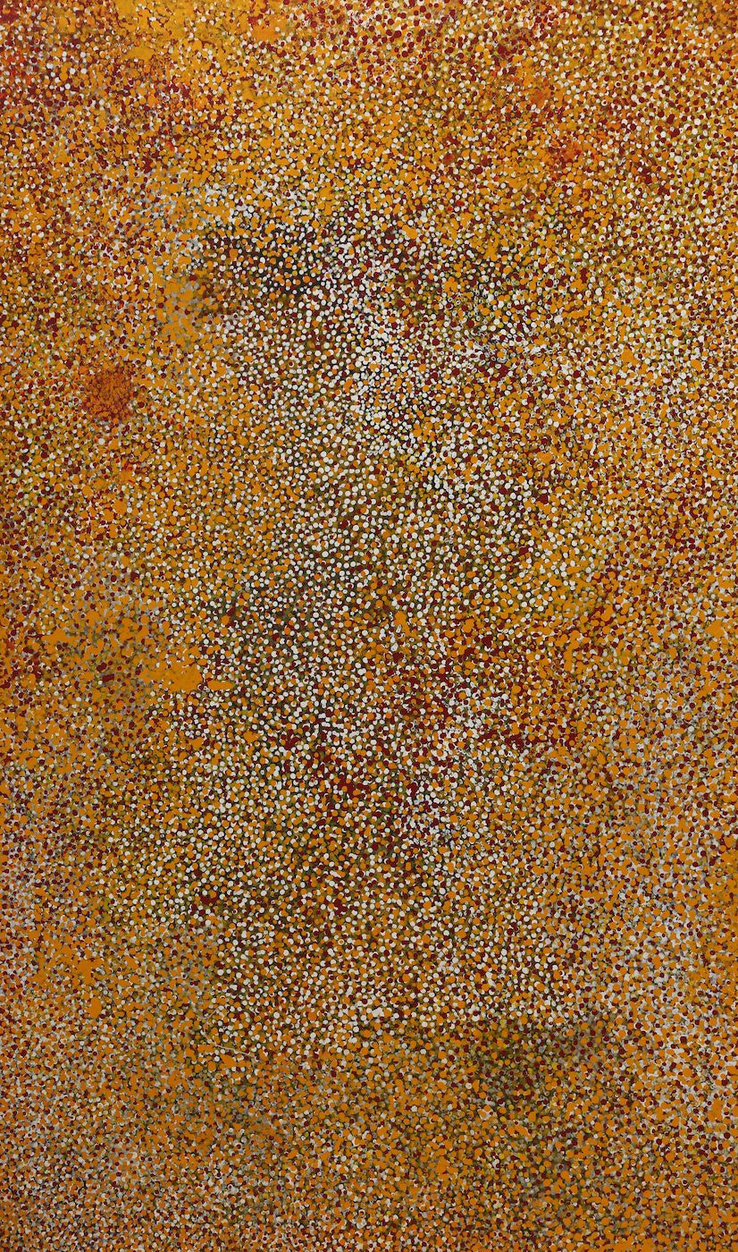Polly Ngale (Kngale), 'Wild Plum', 2004, 04D001, 90x150cm - Delmore Gallery