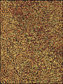 Gloria Petyarre, Painting 05A105, 2005, 90cm x 120cm - Delmore Gallery