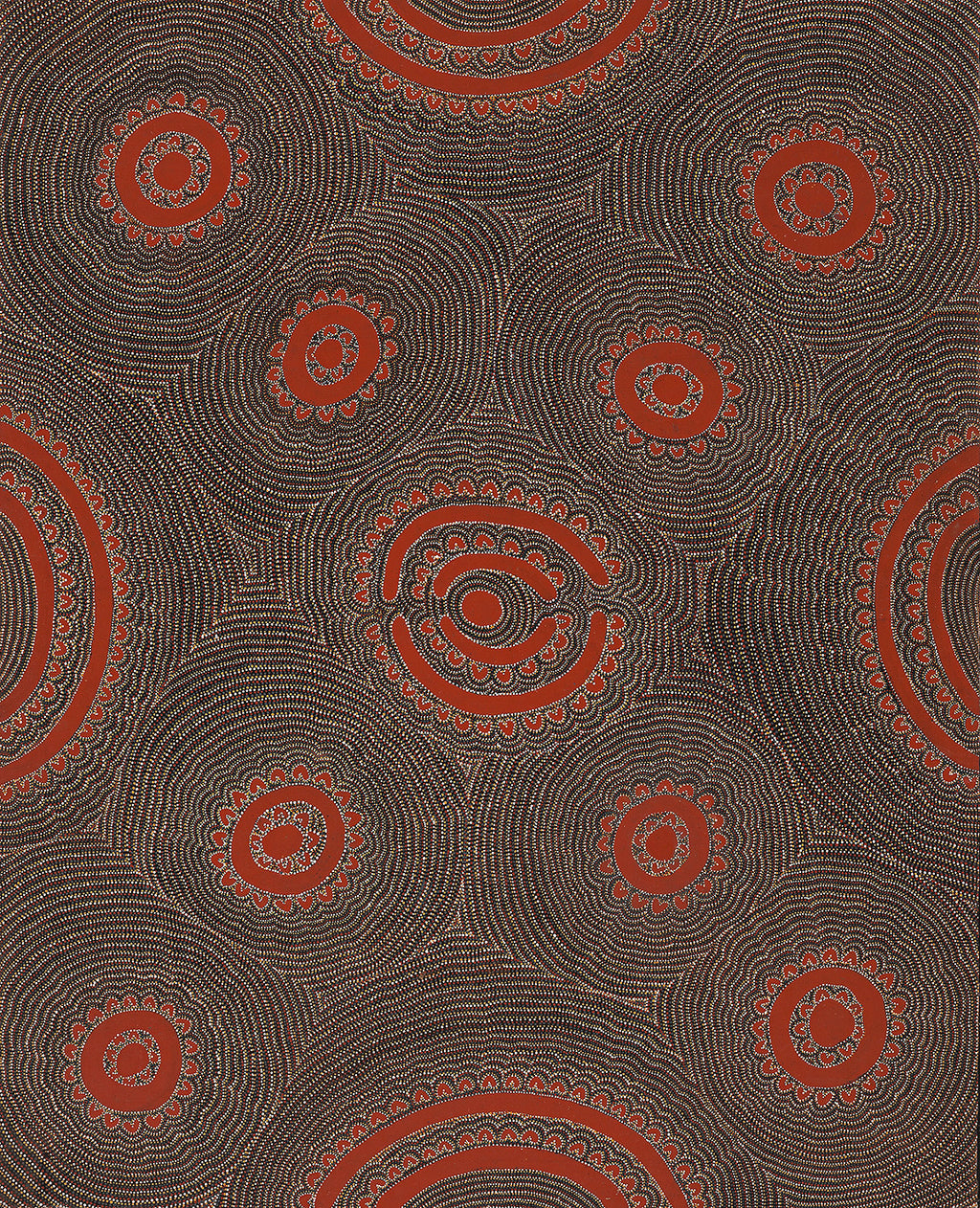 Lily Sandover Kngwarreye, Painting 1Z98, 1991, 120x150cm - Delmore Gallery