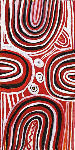 Billy Thomas, Painting 778-99, 75cm x 150cm - Delmore Gallery