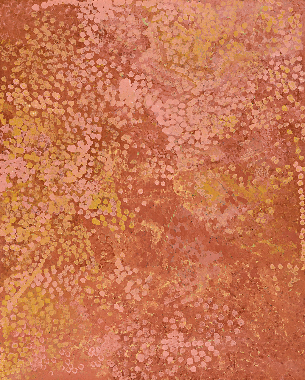 Emily Kame Kngwarreye, Painting 92F093, 1992, 120x150cm - Delmore Gallery