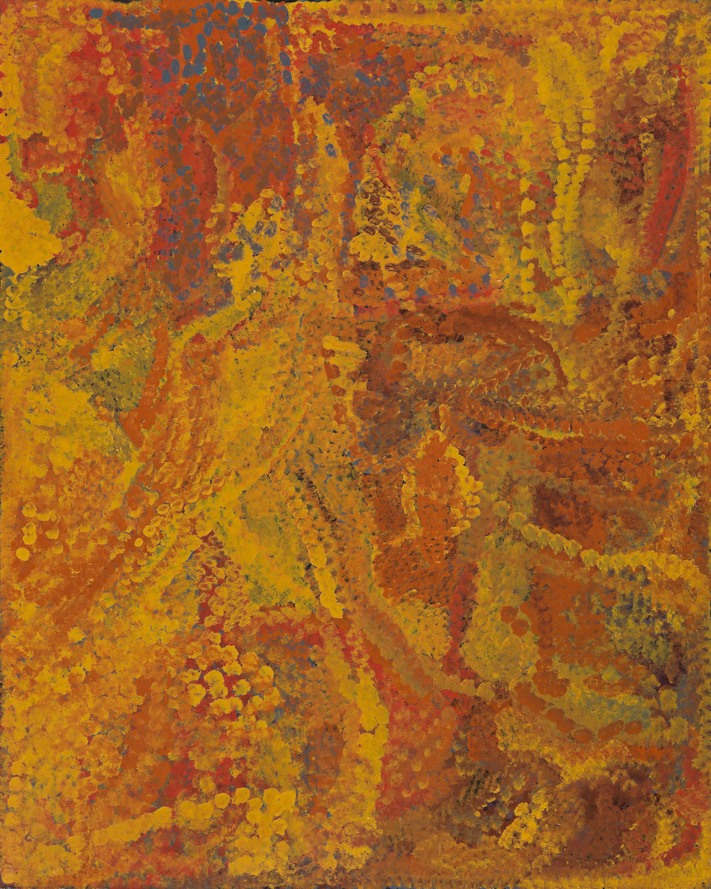 Emily Kame Kngwarreye, 'Alhalkere - My Country', 1992, 92H014, 120x151cm - Delmore Gallery