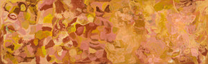 Emily Kame Kngwarreye, 'My Country', 1992, 92H058, 120x500cm - Delmore Gallery