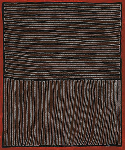 Gloria Petyarre, Painting 94A004, 1994, 120cm x 145cm - Delmore Gallery