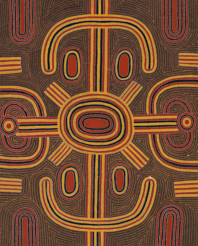 Louie Pwerle, Painting 94A020, 1994, 120x150cm - Delmore Gallery