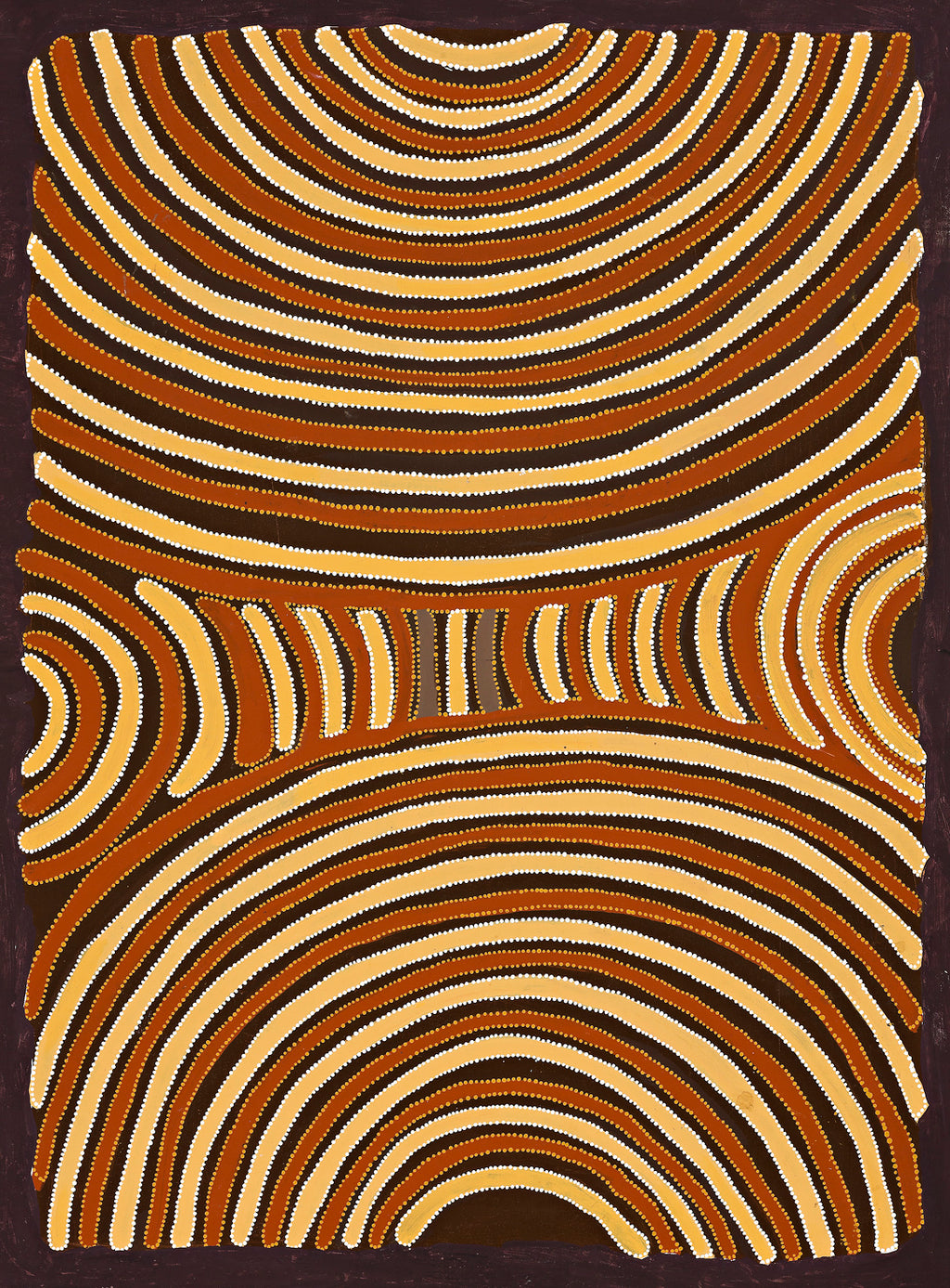 Kathleen Petyarre, 'Body Paint', 1994, 94A039, 90x125cm - Delmore Gallery