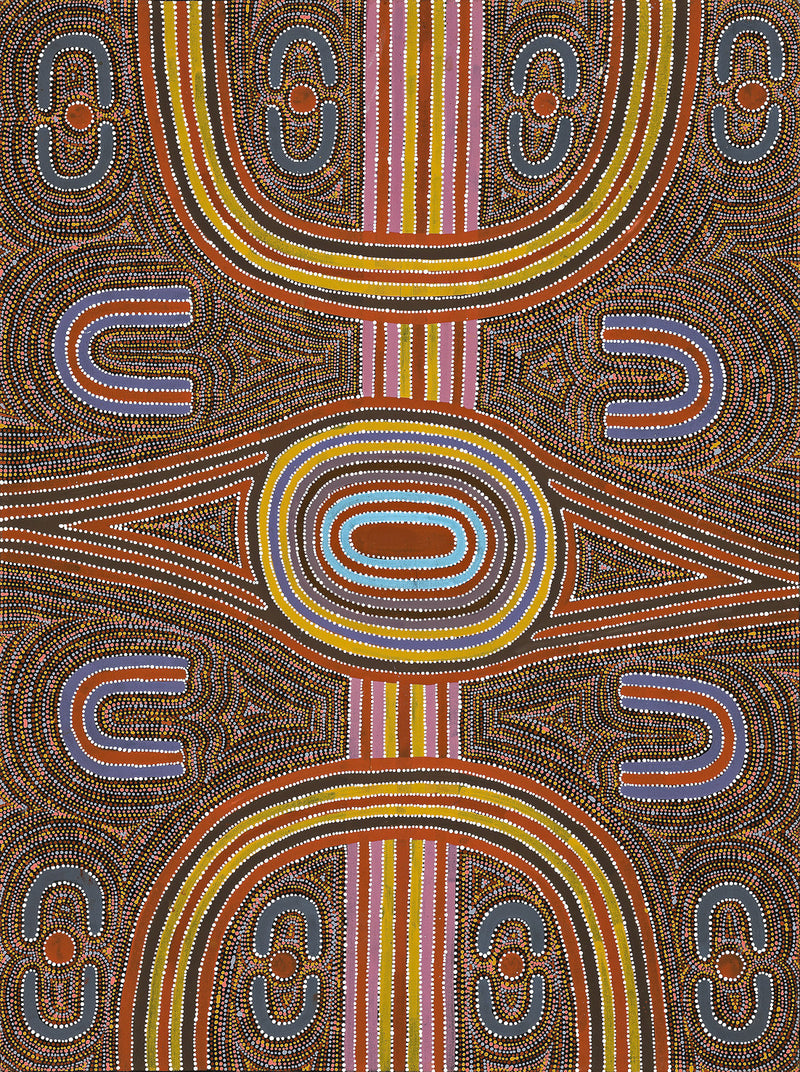 Louie Pwerle, Painting 94C035, 1994, 90x121cm - Delmore Gallery