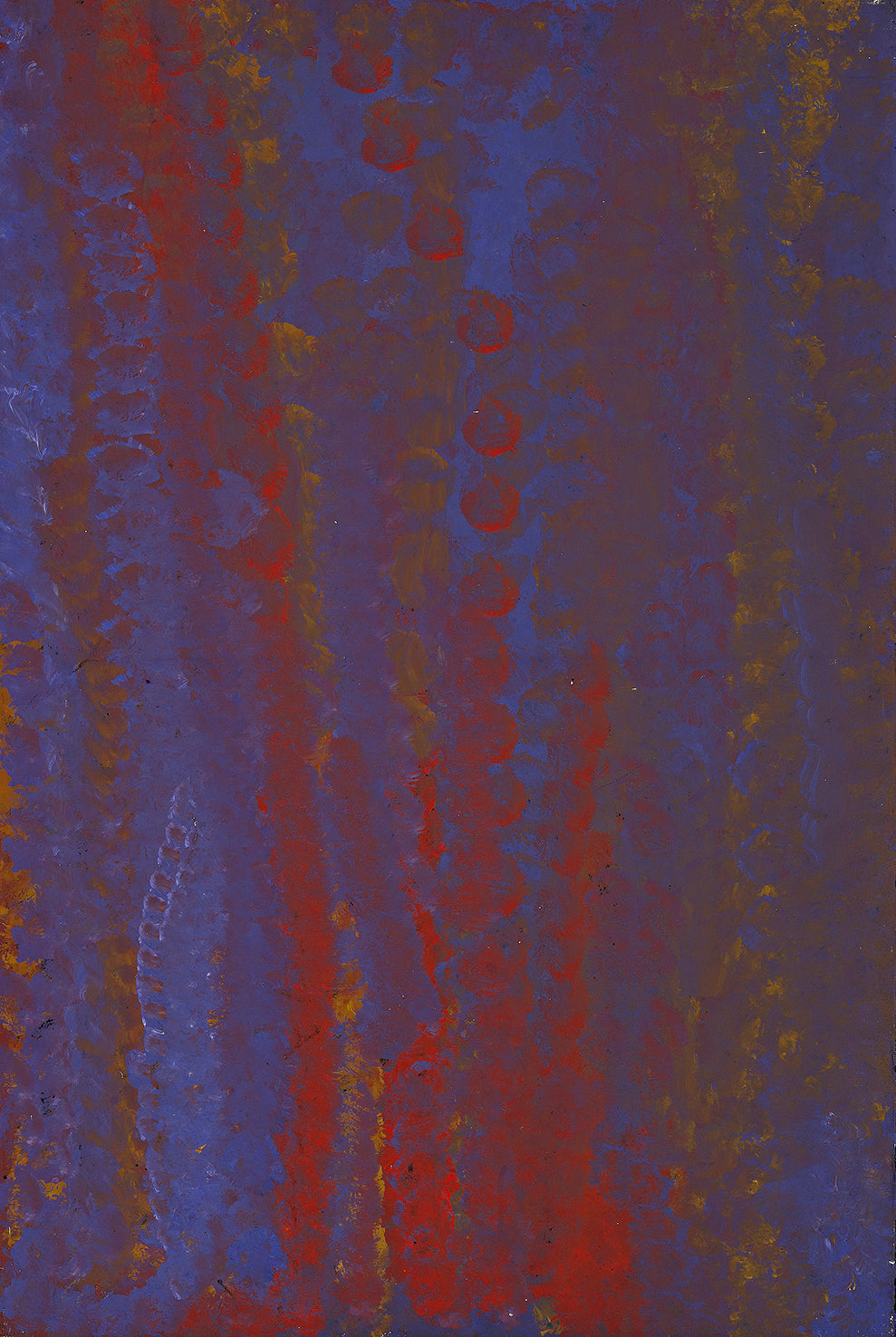 Emily Kame Kngwarreye, Painting 94F048, 1994, 60x90cm - Delmore Gallery