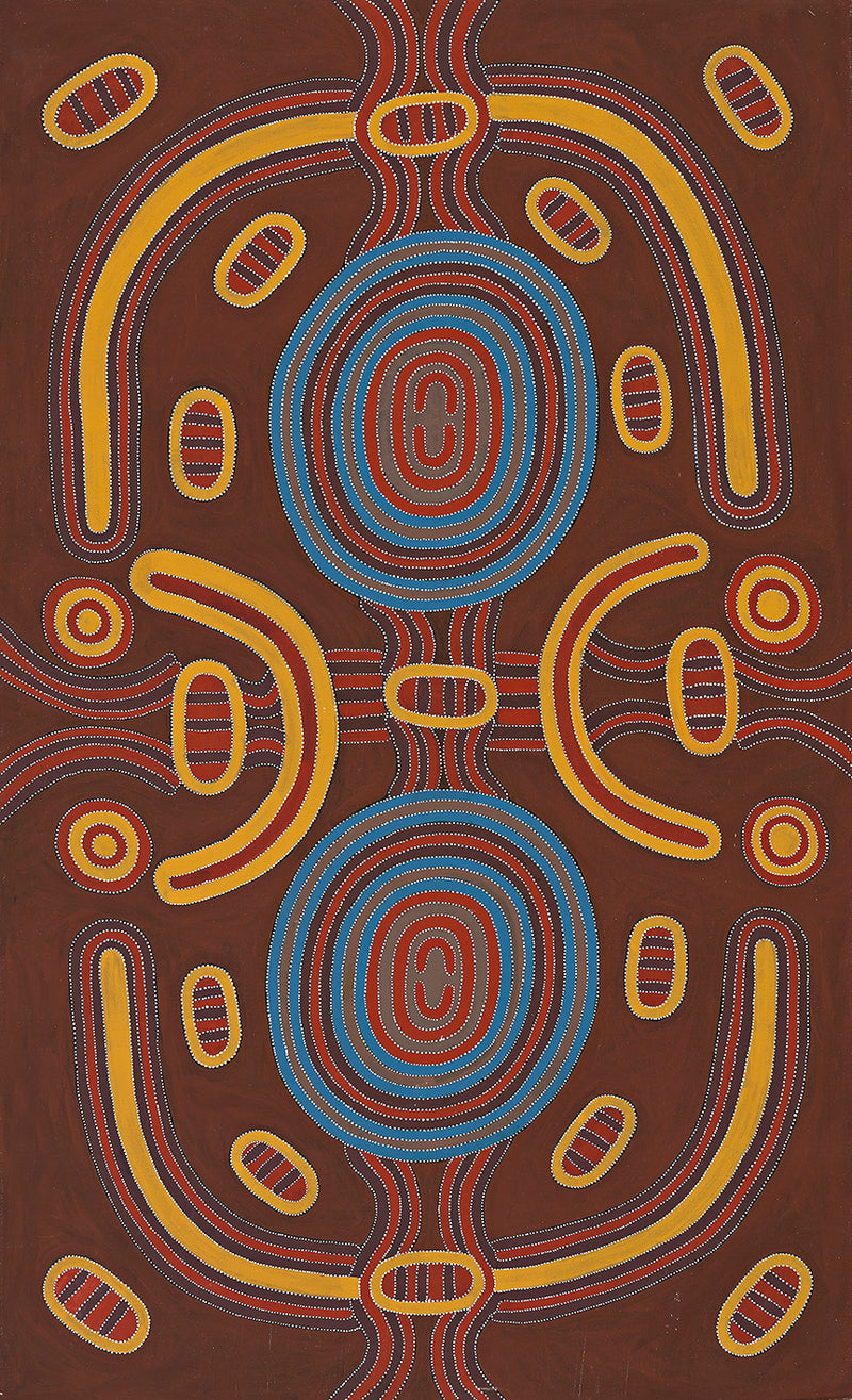 Louie Pwerle, Painting 96H055, 1996, 90x150cm - Delmore Gallery