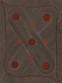 Dorrie Petyarre, Painting 96I018, 1996, 90cm x 121cm - Delmore Gallery