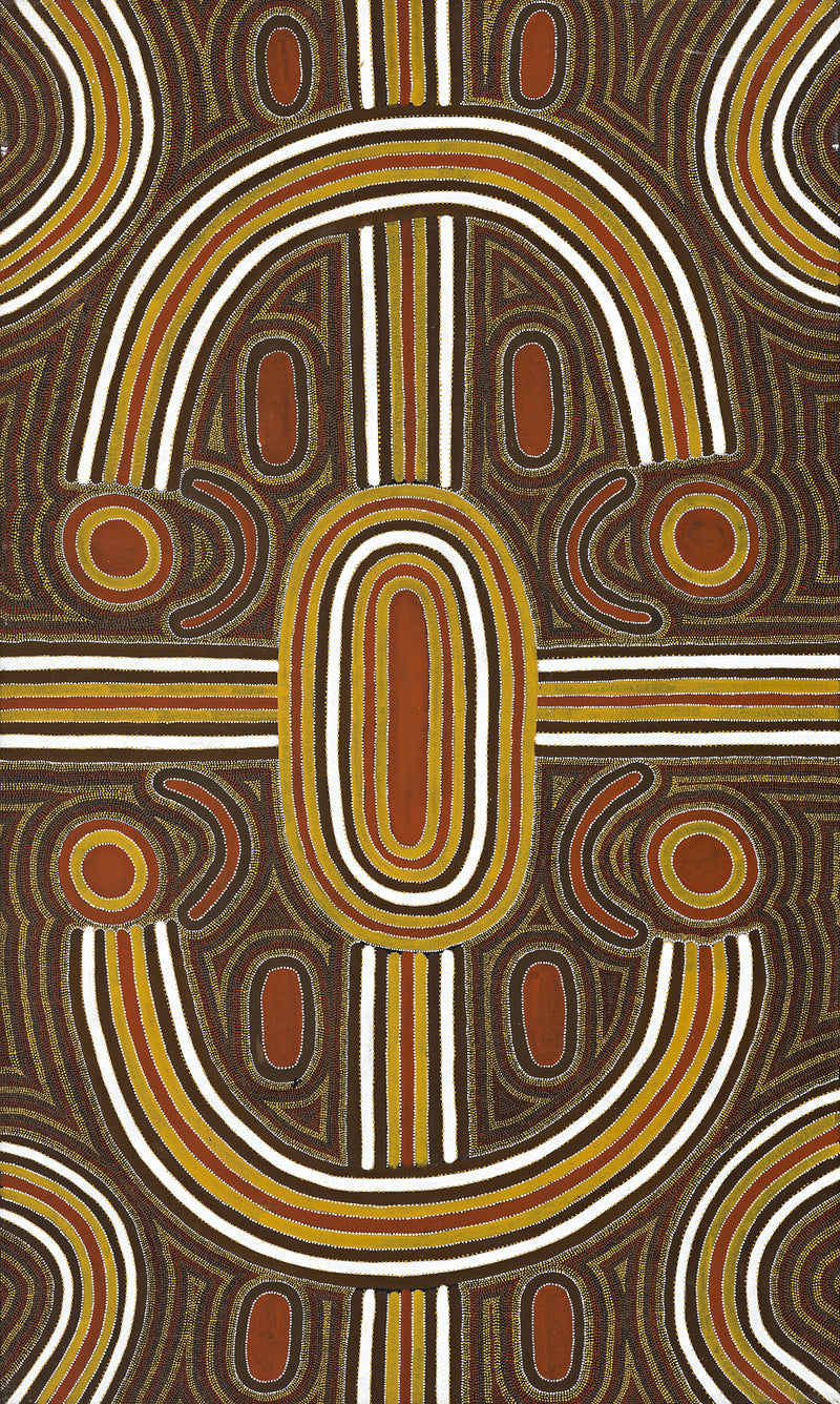 Louie Pwerle, Painting 97B002, 1997, 91x153cm - Delmore Gallery