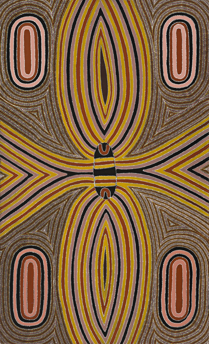 Louie Pwerle, Painting 97F013, 1997, 91x151cm - Delmore Gallery