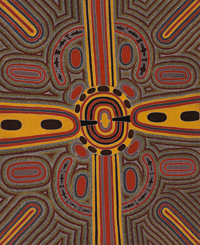 Louie Pwerle, Painting 98D022, 1998, 120x150cm - Delmore Gallery