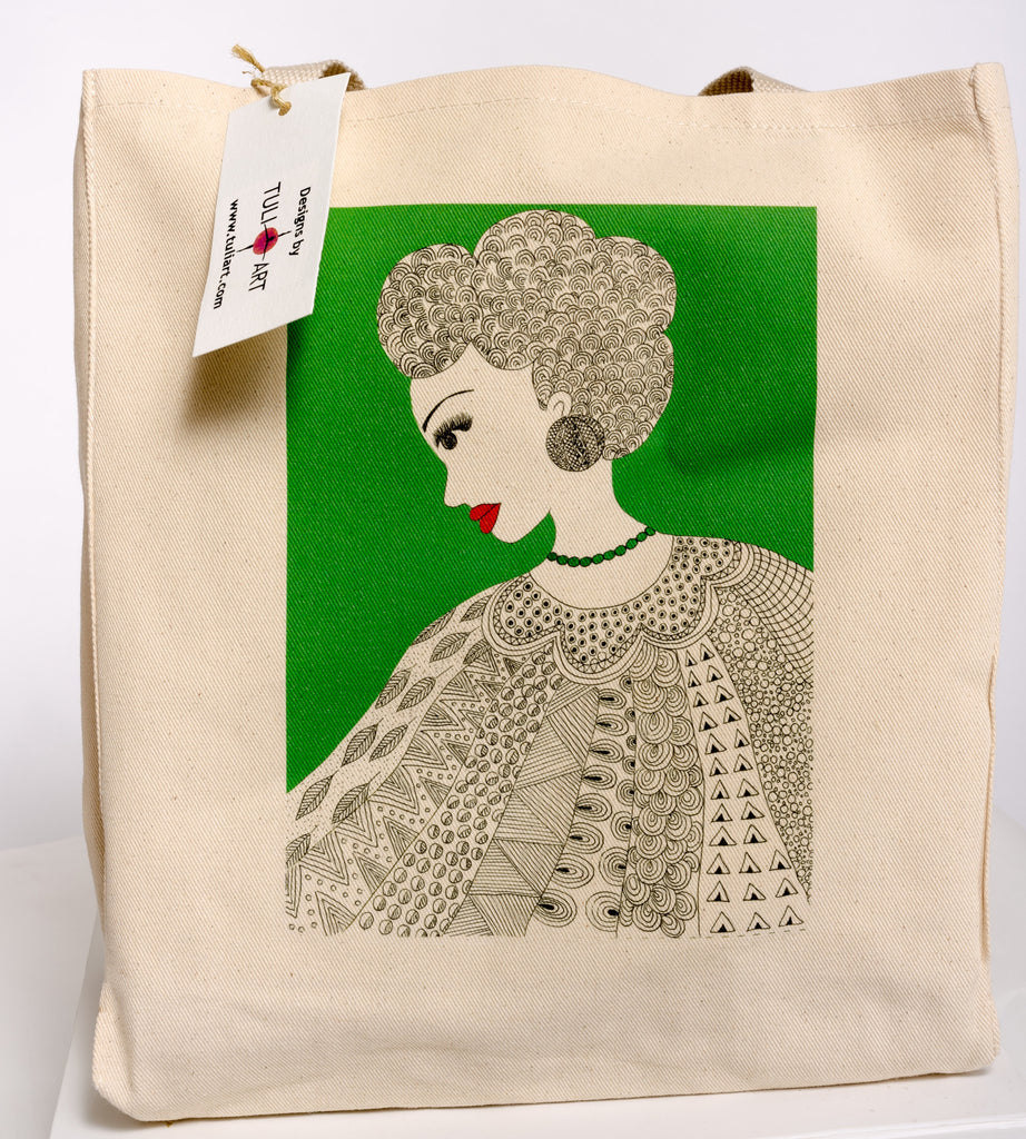 Tote Bag-Queen Nia
