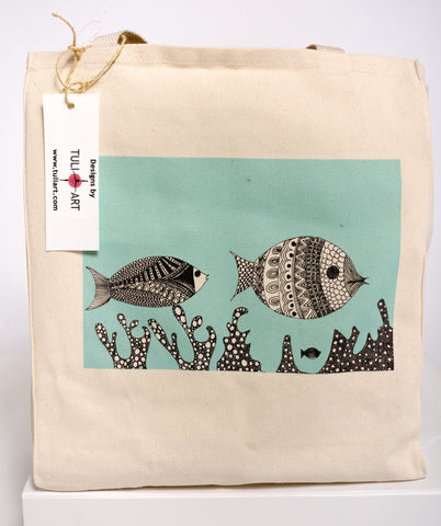 Tote Bag-The Fish