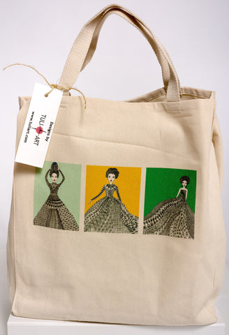 Tote Bag-Three Queens