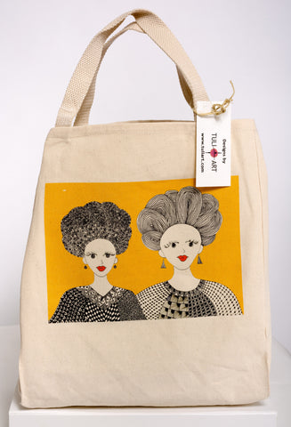 Tote Bag-Two Queens