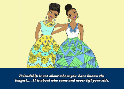 Note Cards - Friendship