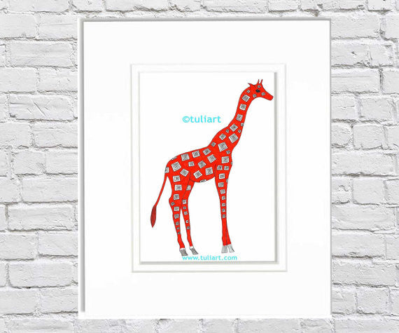 Animals - Giraffe