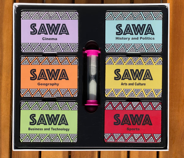 SAWA African Trivia Card Game