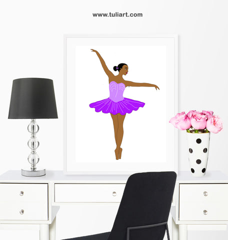 Ballerina Art Illustration- Lerato R