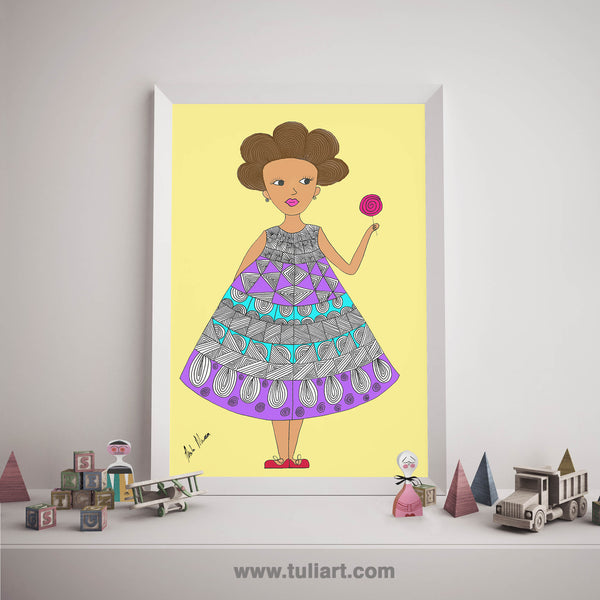 Afrik Art - Lele Lollipop
