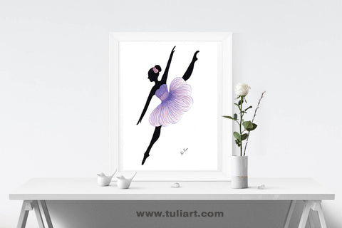 Ballerina Art Illustration - Lorato
