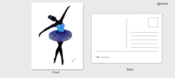 Post Cards-Ballet Assorted Package