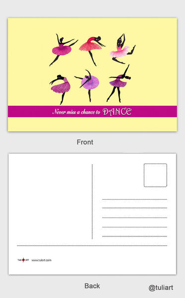 Post Cards-Ballet