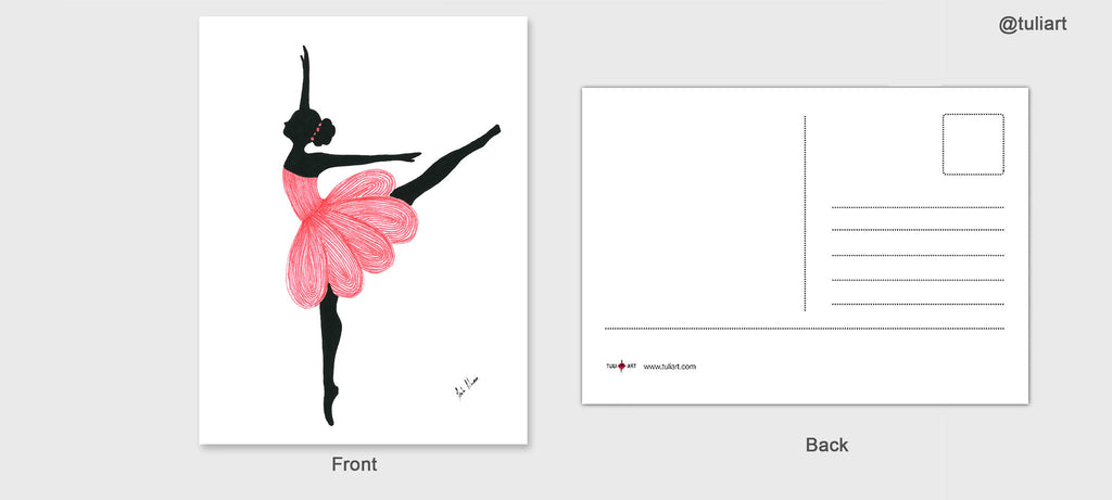 Post Cards-Sandra J- Ballerina