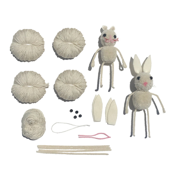 KIT: Heirloom Pom Pom Bunny Kit