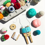 ACCESSORY: Bobbin with Floss (for Pom Pom Making)