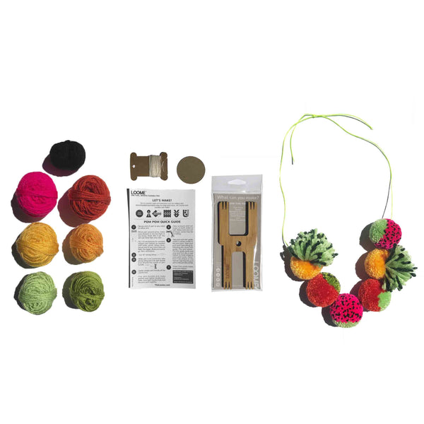 Loome Kit: Fruit Pom Poms